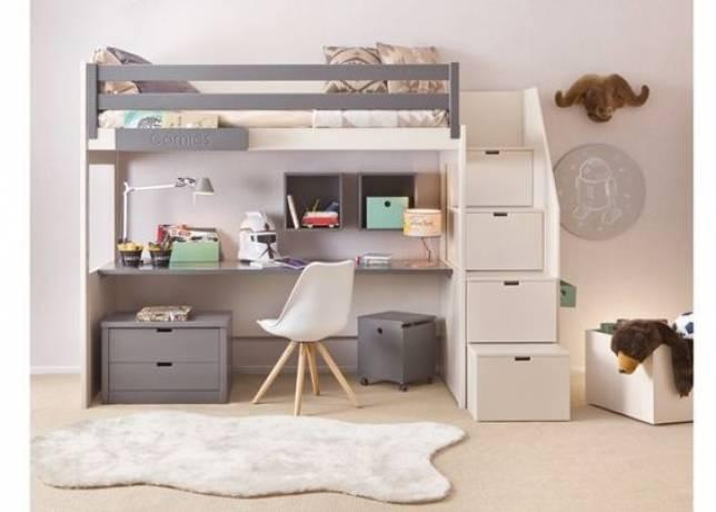 habitación infantil pequeña decoración