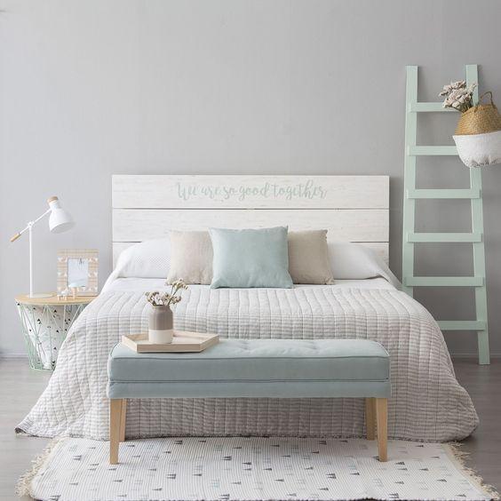 Tendencias en cabeceros de cama magazine bertha hogar - Cabeceros de cama en madera ...