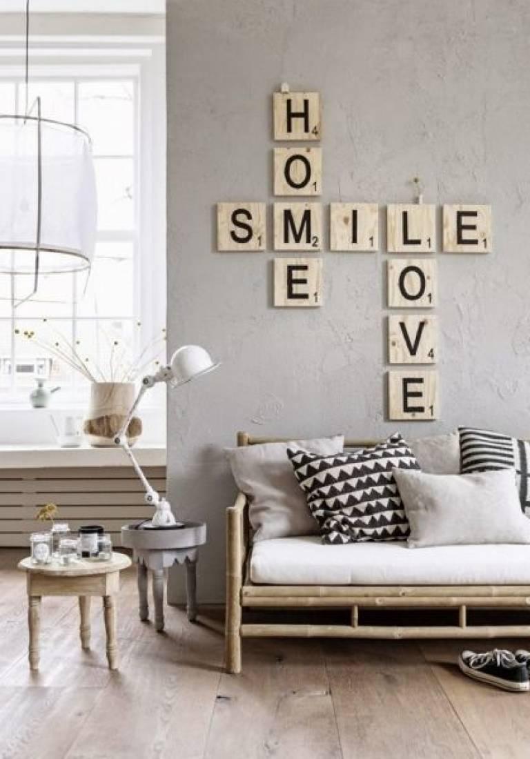 Letras decorativas, una tendencia que gana cada vez más fuerza