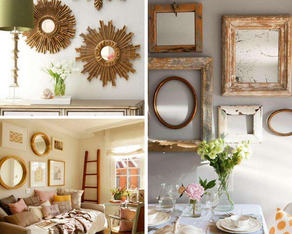 Espejos decorativos 5 ideas para decorar con espejos for Espejos decorativos para entradas