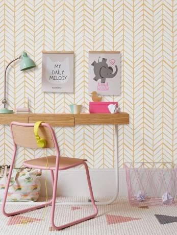 decorar paredes con papel pintado