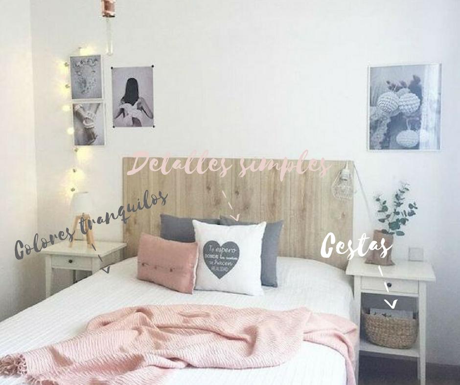 Trucos para decorar un dormitorio de matrimonio peque o for Dormitorios minimalistas pequenos