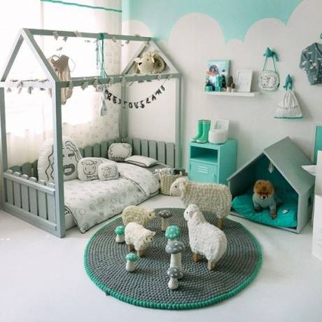 decorar dormitorio infantil montessori