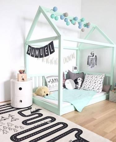 dormitorio bebé montessori