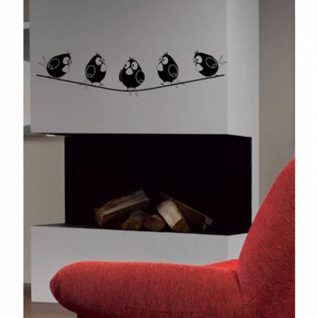 vinilos decorativos de pared para chimenea
