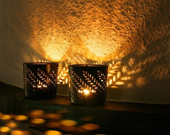 Decoración con velas para cualquier tipo de habitación