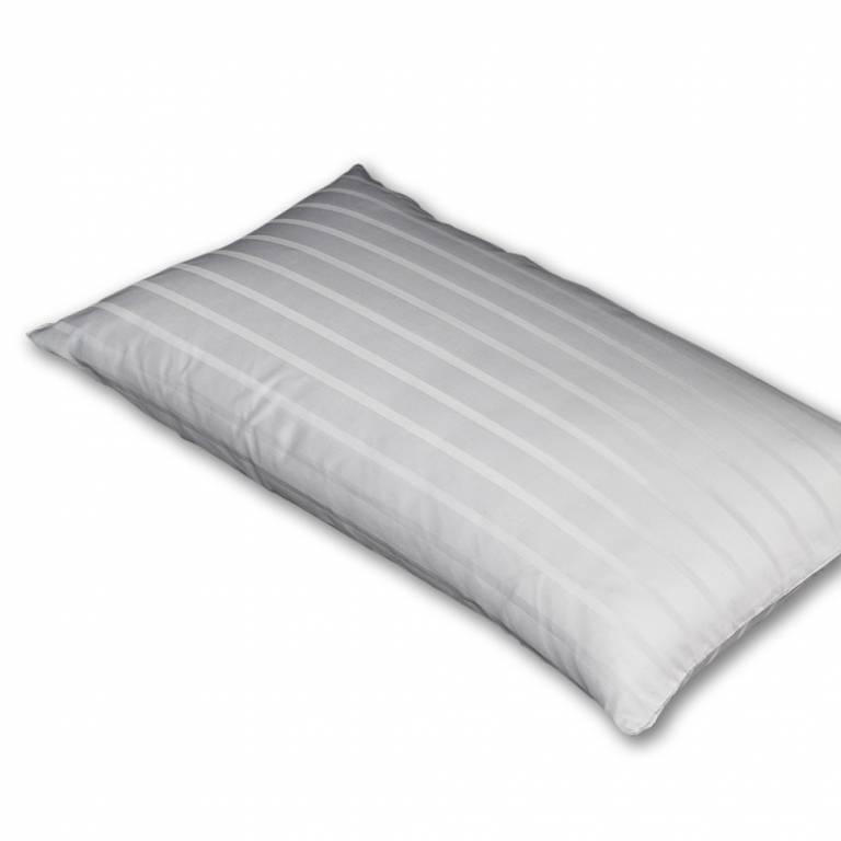 Funda de almohada 100% algodón (blanco, 40x70 cm)