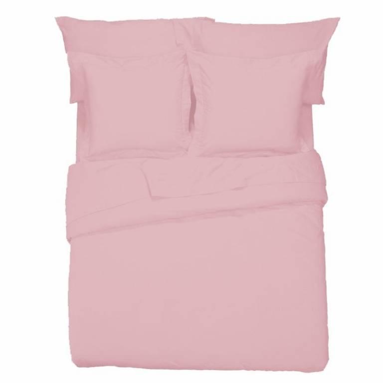 Sábana encimera Básicos (rosa, Cama 105: 180x270 cm)