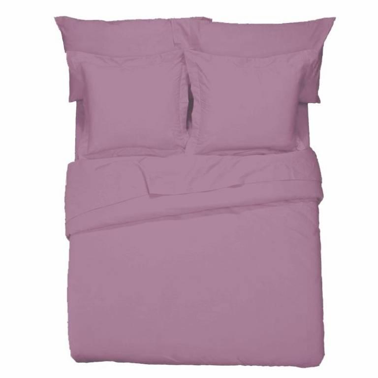 Sábana bajera ajustable Básicos (violeta, Cama 90: 90x197 cm)