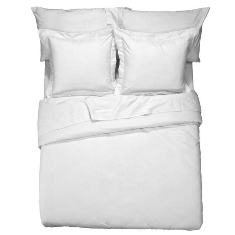 Funda de almohada Básicos (blanco, Cama 090: 045x110 cm)