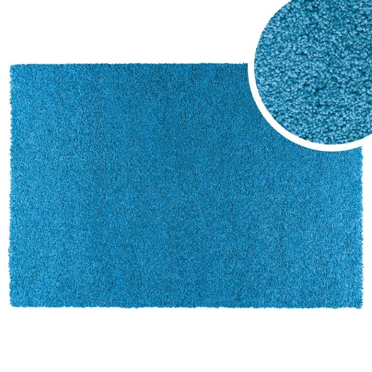 Alfombra tipo moqueta Hamilton (azul, 100x150 cm)
