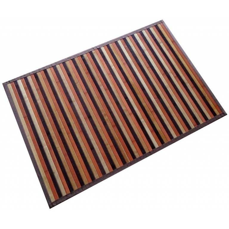 Alfombra Bambú Kanda (070x140 cm, bicolor)