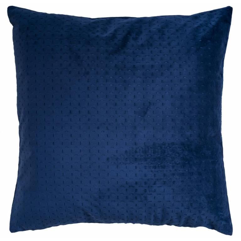 Funda de cojín Senan (azul, 45x45 cm)
