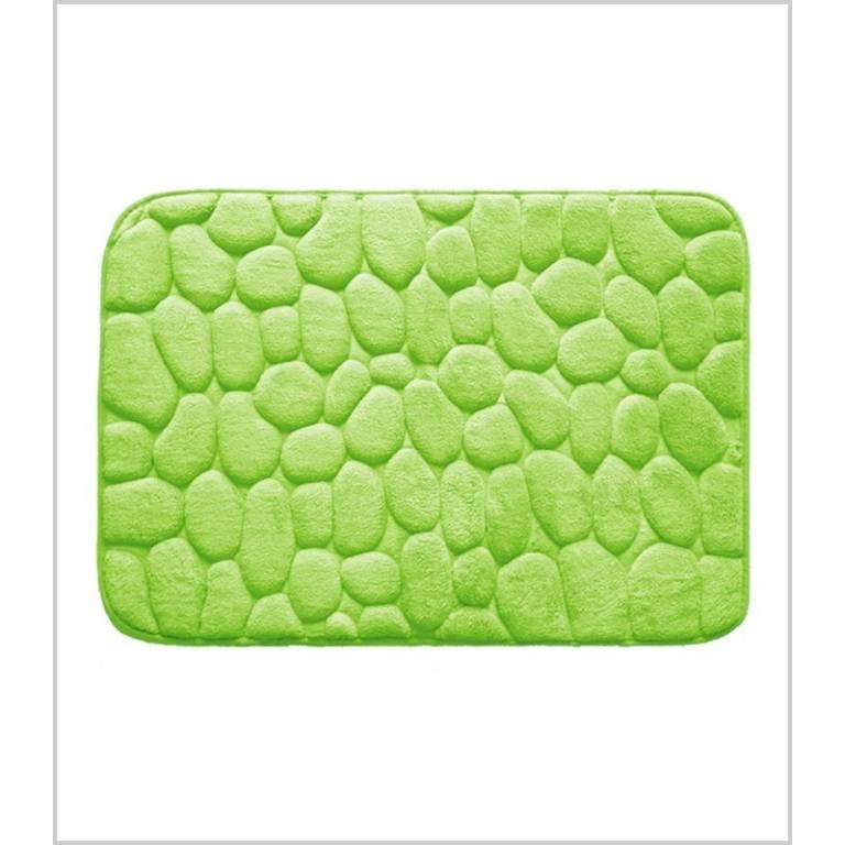 Alfombra de baño Piedras antideslizante (pistacho, 40x60 cm)