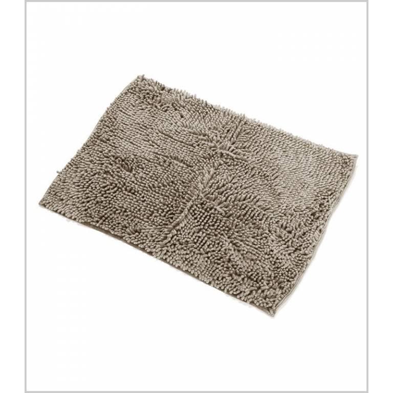 Alfombra de baño antideslizante gusanillo (visón, 40x60 cm)