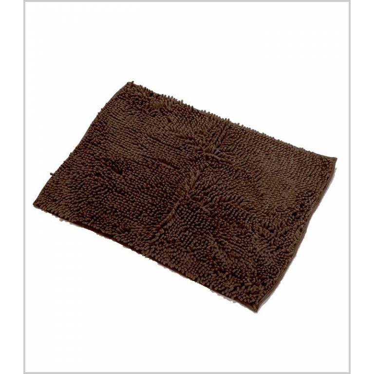 Alfombra de baño antideslizante gusanillo (chocolate, 40x60 cm)