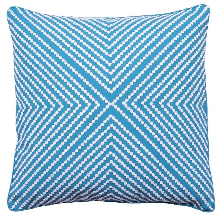 Funda de cojín Lansca (azul, 30x50 cm)