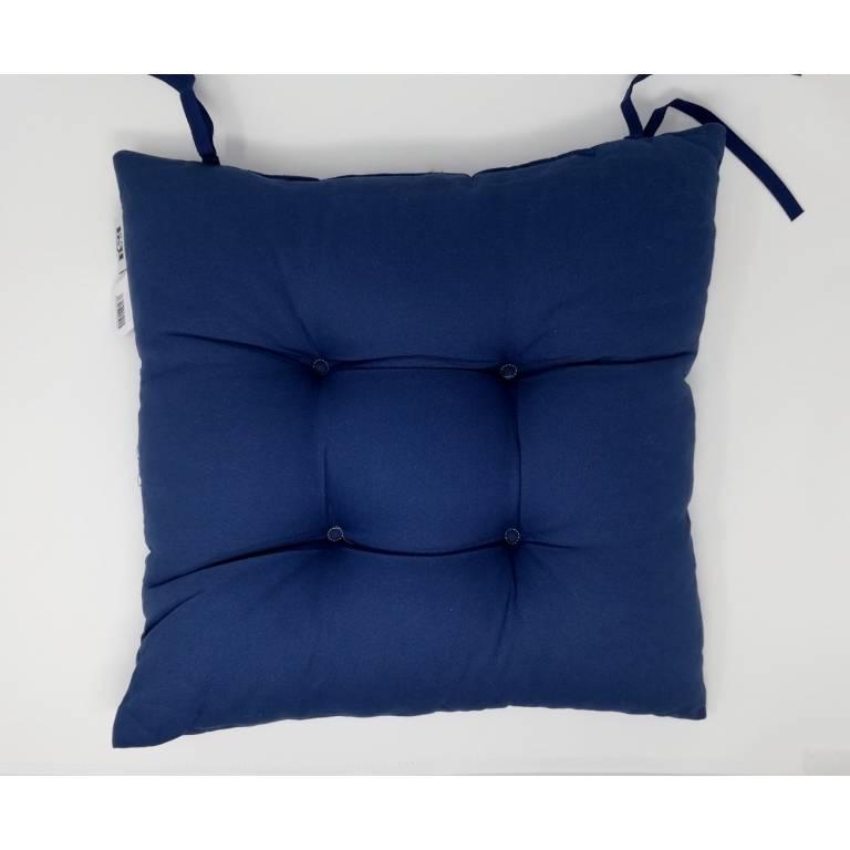 Cojín de silla Phelps 40x40 cm (azul, 40x40 cm)