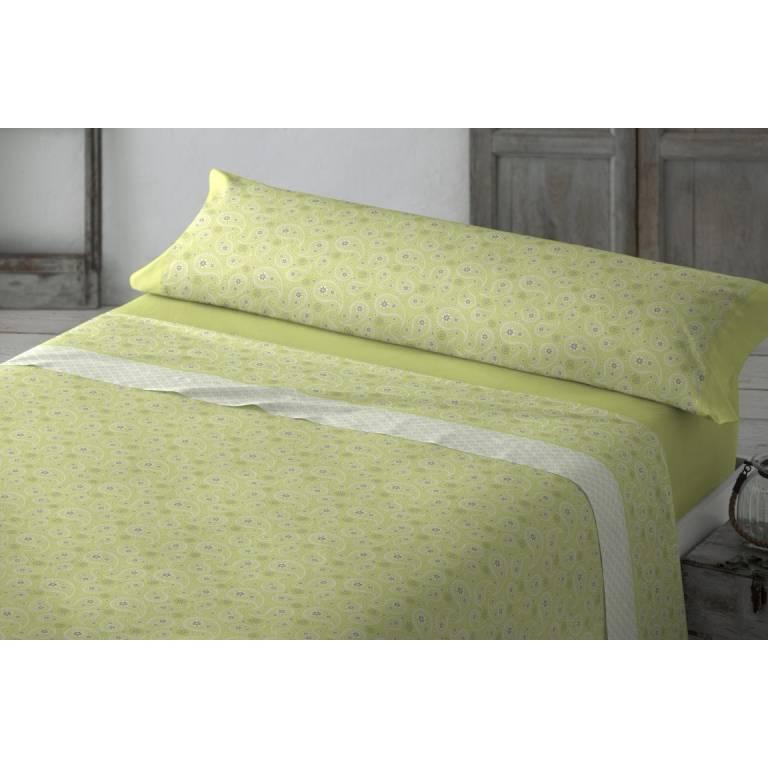 Juego de sábanas Dorset (verde, Cama 090)