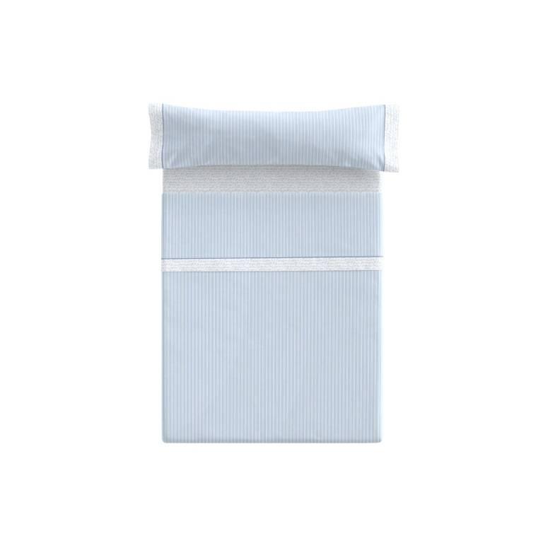 Juego de sábanas Deva (azul, Cama 180)