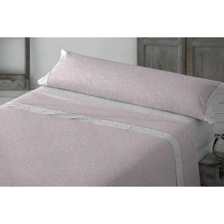 Juego de sábanas Lezama (rosa, Cama 105)
