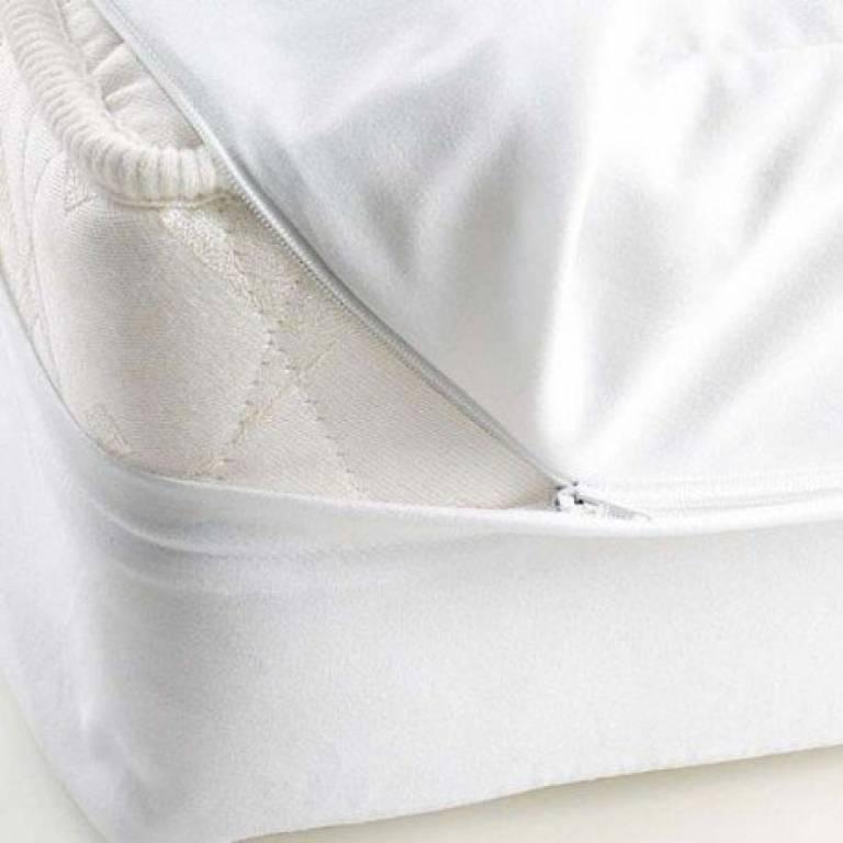 Funda de colchón Mash rizo (blanco, 90x200 cm)