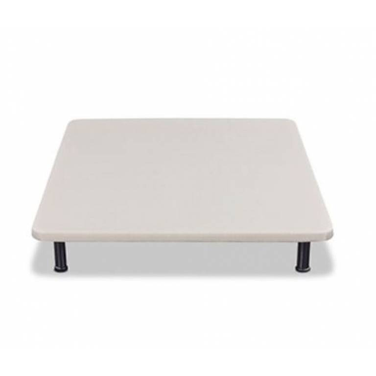 Base tapizada Mash máxima firmeza (blanco, 135x182 cm)