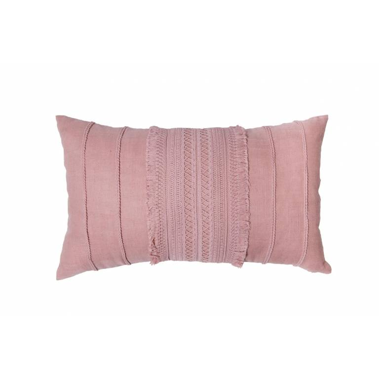 Funda cojin Olbia rosa (rosa, 30x50 cm)