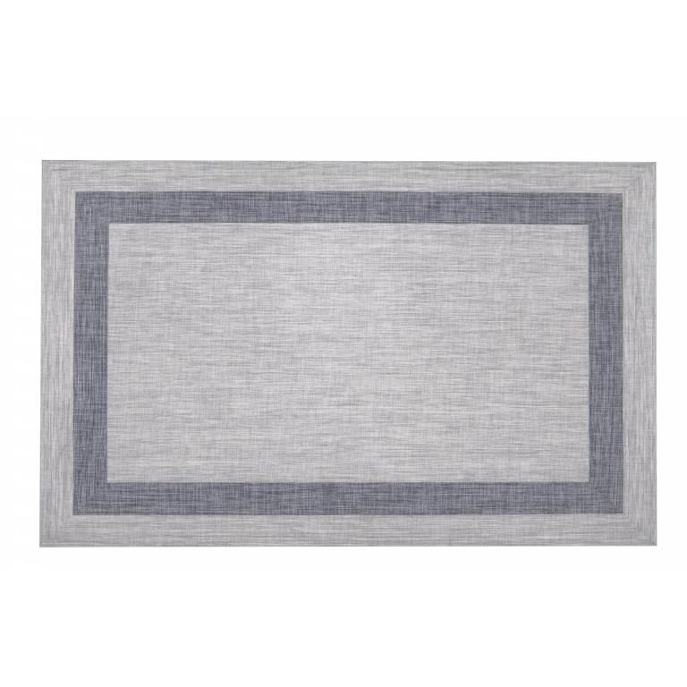 Alfombra de vinilo Lane (070x140 cm, gris)