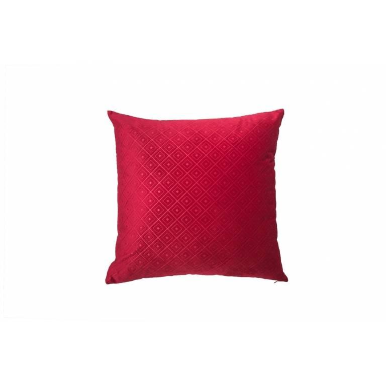 Funda de cojín Benasque (rojo, 40x60 cm)
