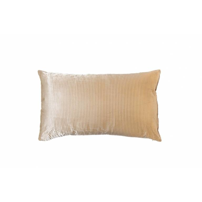 Funda de cojín Veralar (beige, 45x45 cm)