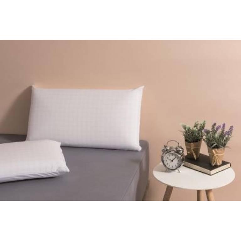 Almohada Velfont visco suave (blanco, 40x70 cm)