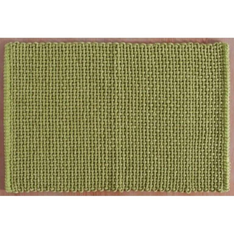 Alfombra de baño Noa (verde, 50x70 cm)