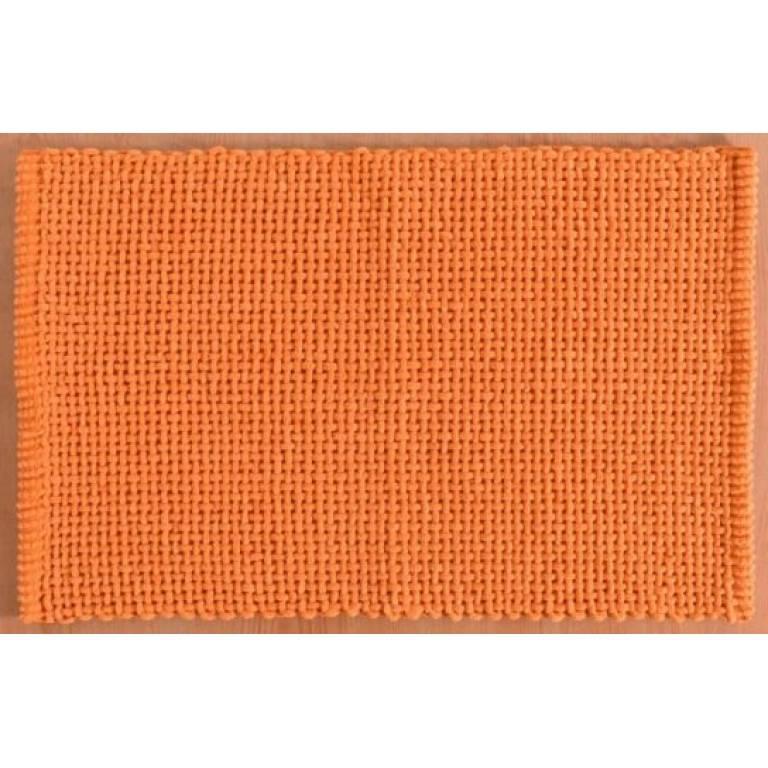 Alfombra de baño Noa (naranja, 50x70 cm)