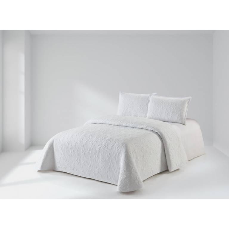 Colcha Newport (Cama 135: 235x270 cm, blanco)
