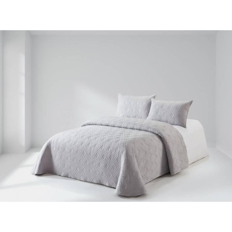 Colcha Risdal (Cama 135: 235x270 cm, gris)