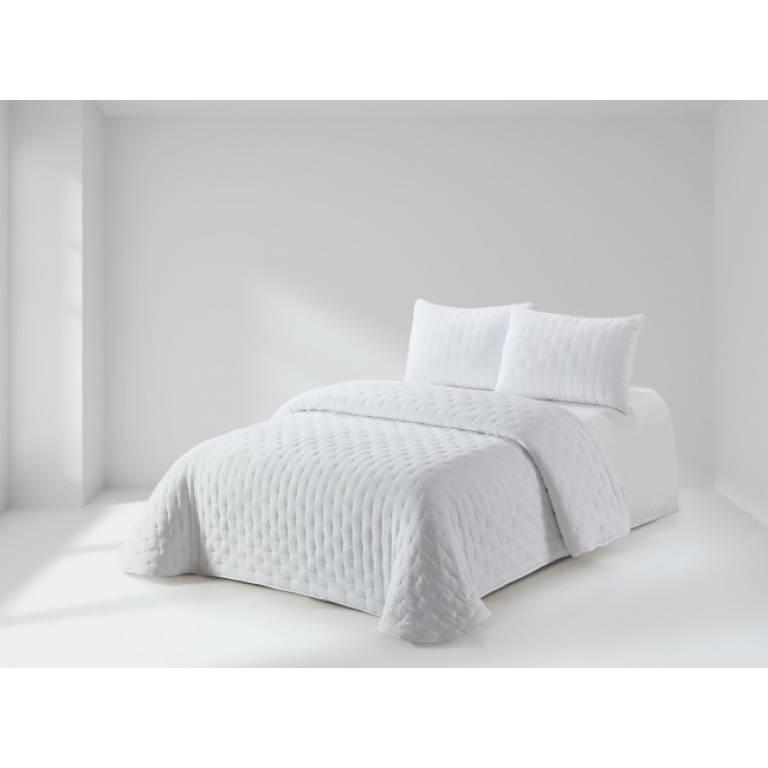 Colcha Benger (Cama 135: 235x270 cm, blanco)