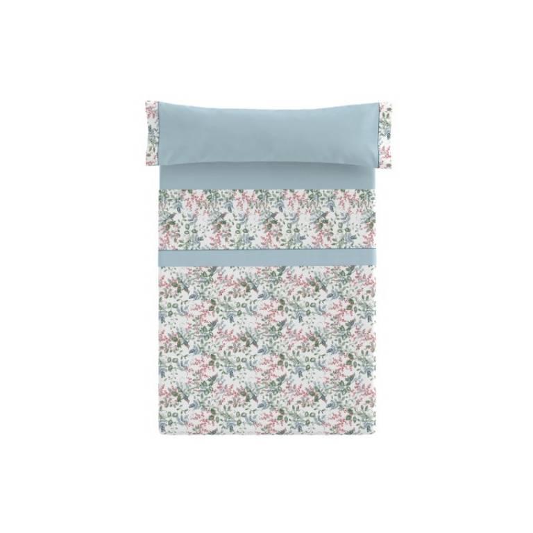 Juego de sábanas Nerin (azul, Cama 180)