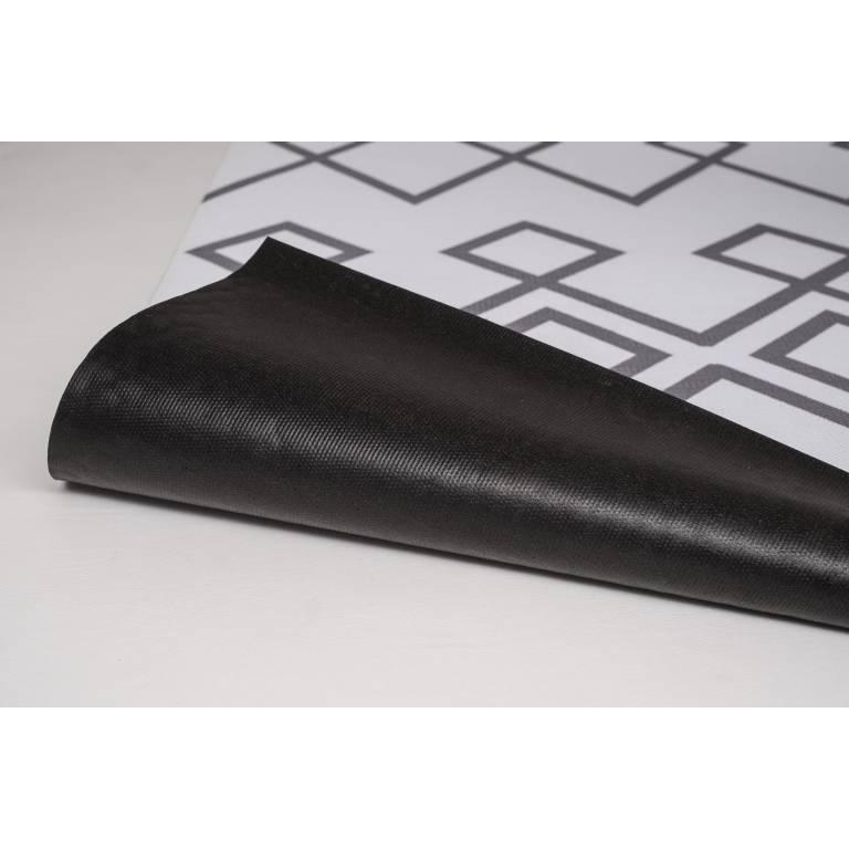 Alfombra de vinilo Regis (140x200 cm, gris)