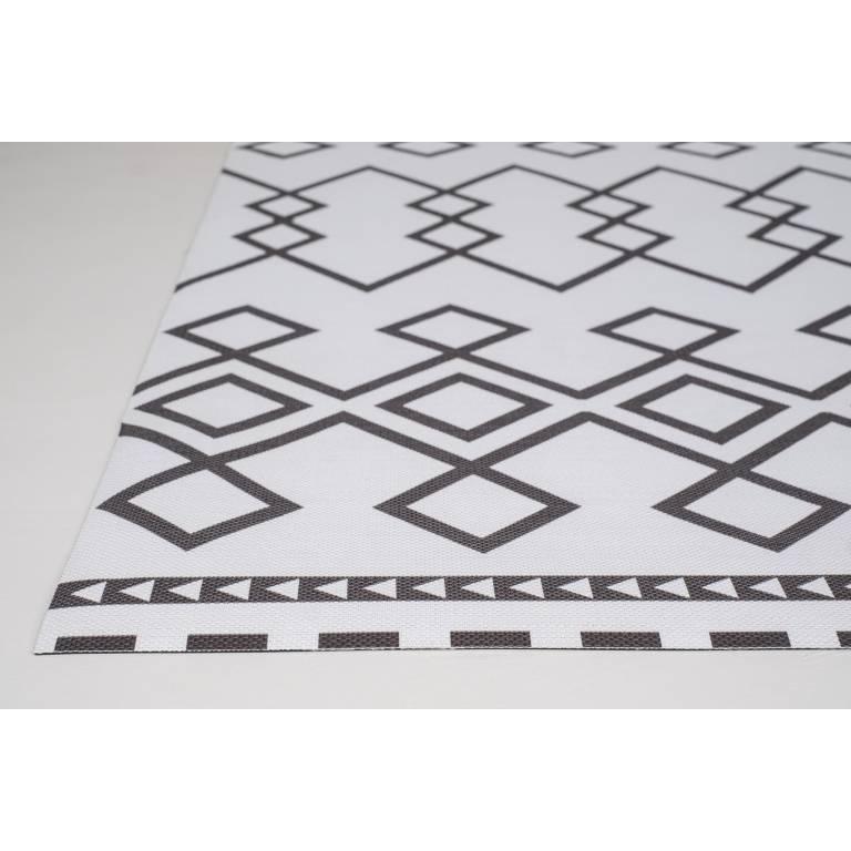 Alfombra de vinilo Regis (140x200 cm, negro)