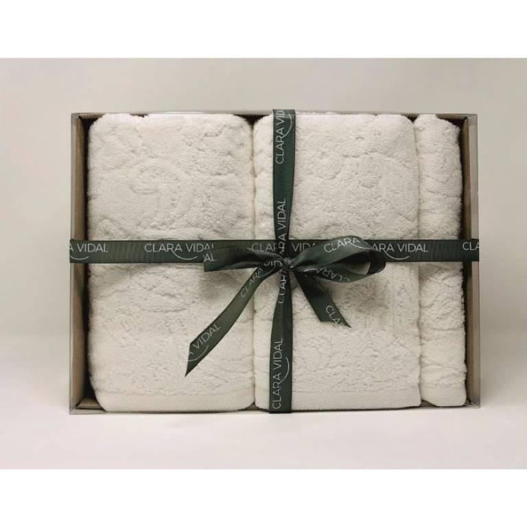 Juego de toallas Verdana (blanco)