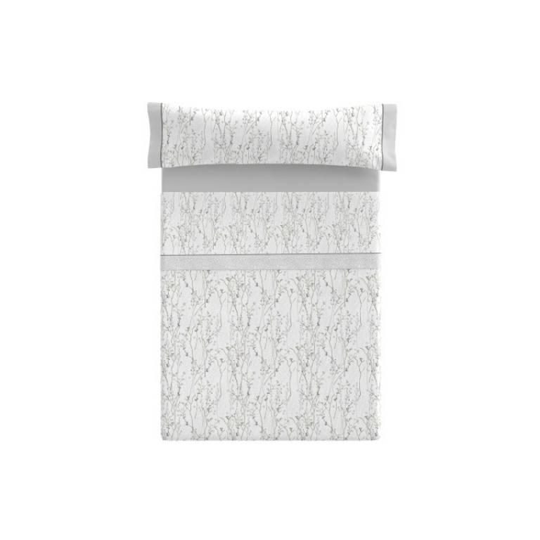 Juego de sábanas Leven (gris, Cama 090)