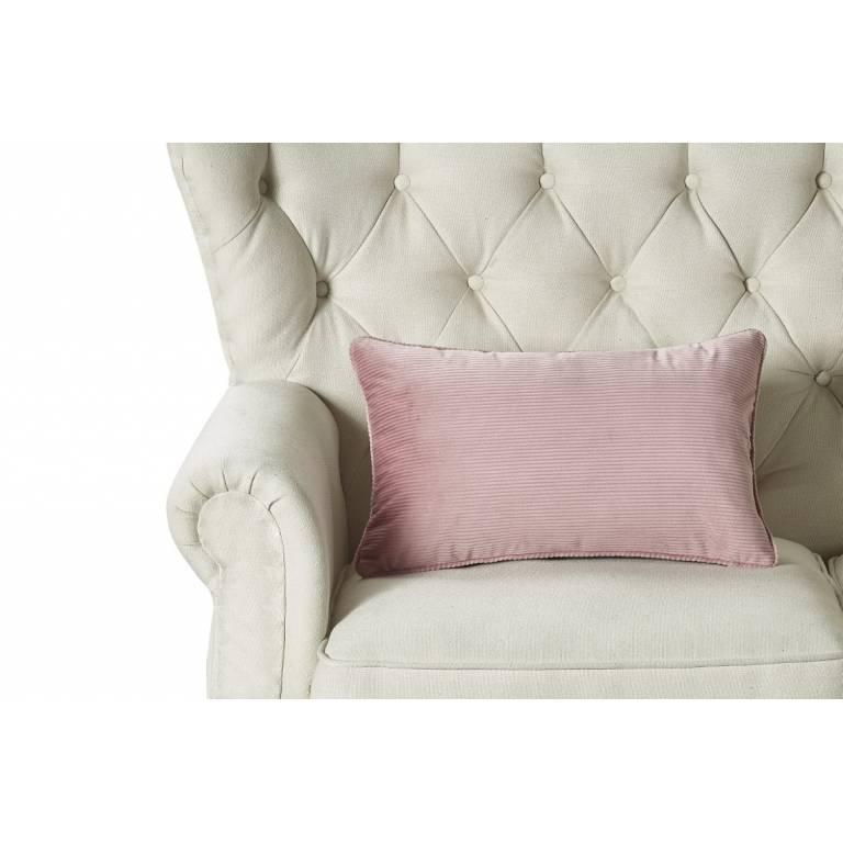 Funda de cojin Alea (rosa, 30x50 cm)