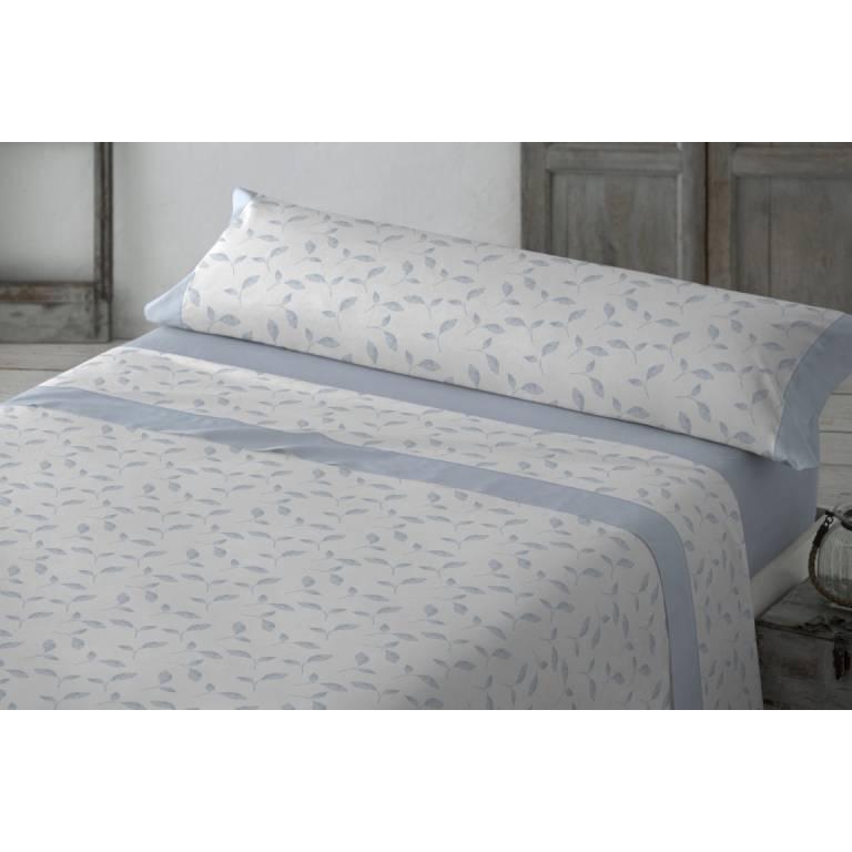 Juego de sábanas Amberes (azul, Cama 150)