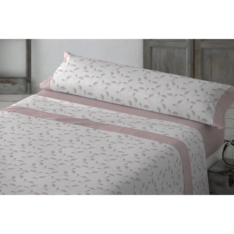 Juego de sábanas Amberes (rosa, Cama 180)