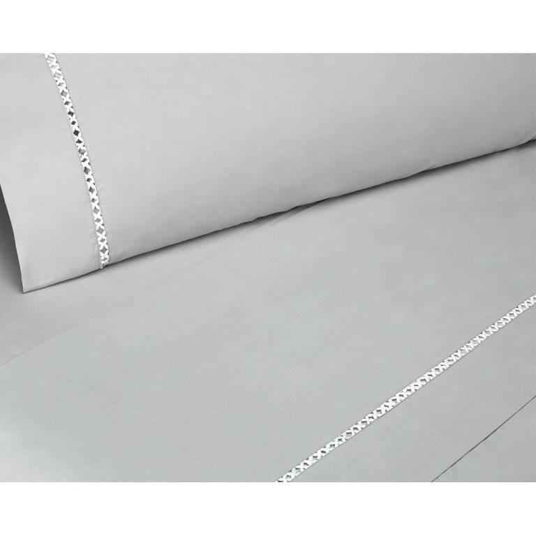 Juego de sábanas Landir (gris, Cama 150)