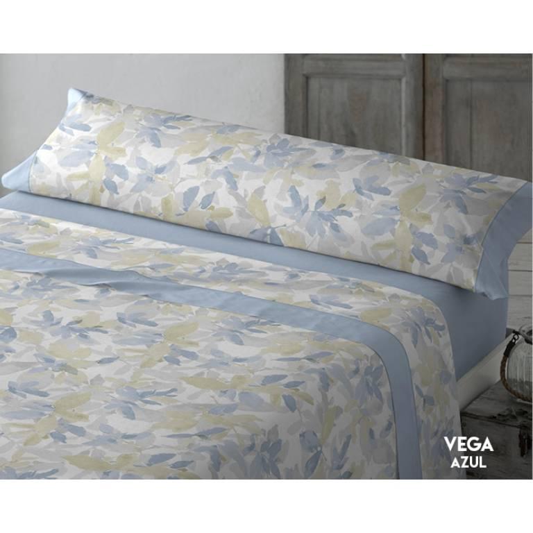 Juego de sábanas Vega (azul, Cama 135)
