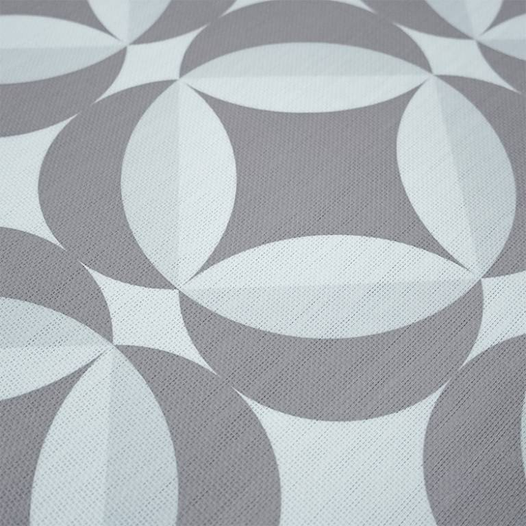 Alfombra de Vinilo Lemy (070x140 cm, gris)